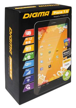Новый 7-дюймовый планшет Digma Plane 7.0 3G c двумя слотами для SIM-карт уже в продаже
