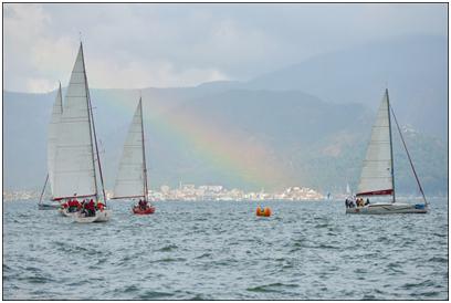 В конце ноября в водах Эгейского моря близ города Мармарис, Турция, состоялась спортивная крейсерская регата 301 миля
