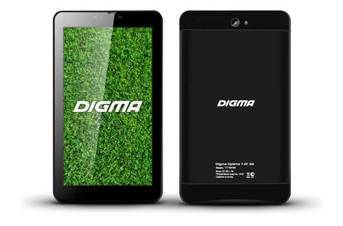 Digma Optima 7.07 3G: семидюймовый, многофункциональный, доступный