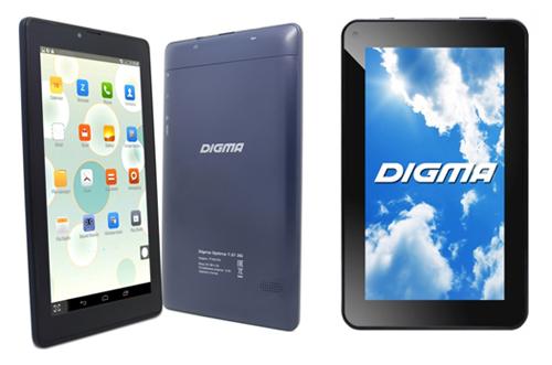Digma Optima 7.21 3G и Digma Optima 7.13