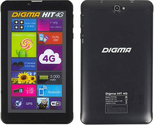 Планшет Digma HIT 4G