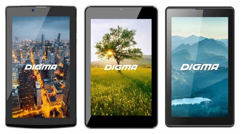 Digma – в пятерке лидеров российского рынка планшетов