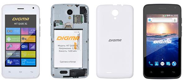 Digma HIT Q400 3G