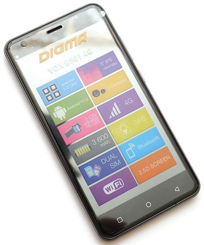 Digma G501 4G Vox