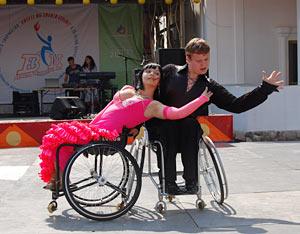 II Открытый московский чемпионат детей-инвалидов по спортивным танцам на колясках